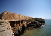 Coastal Wall Roman fort in Tarragona, Spain — Stock Photo