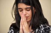 Pokornej modlitwy — Zdjęcie stockowe