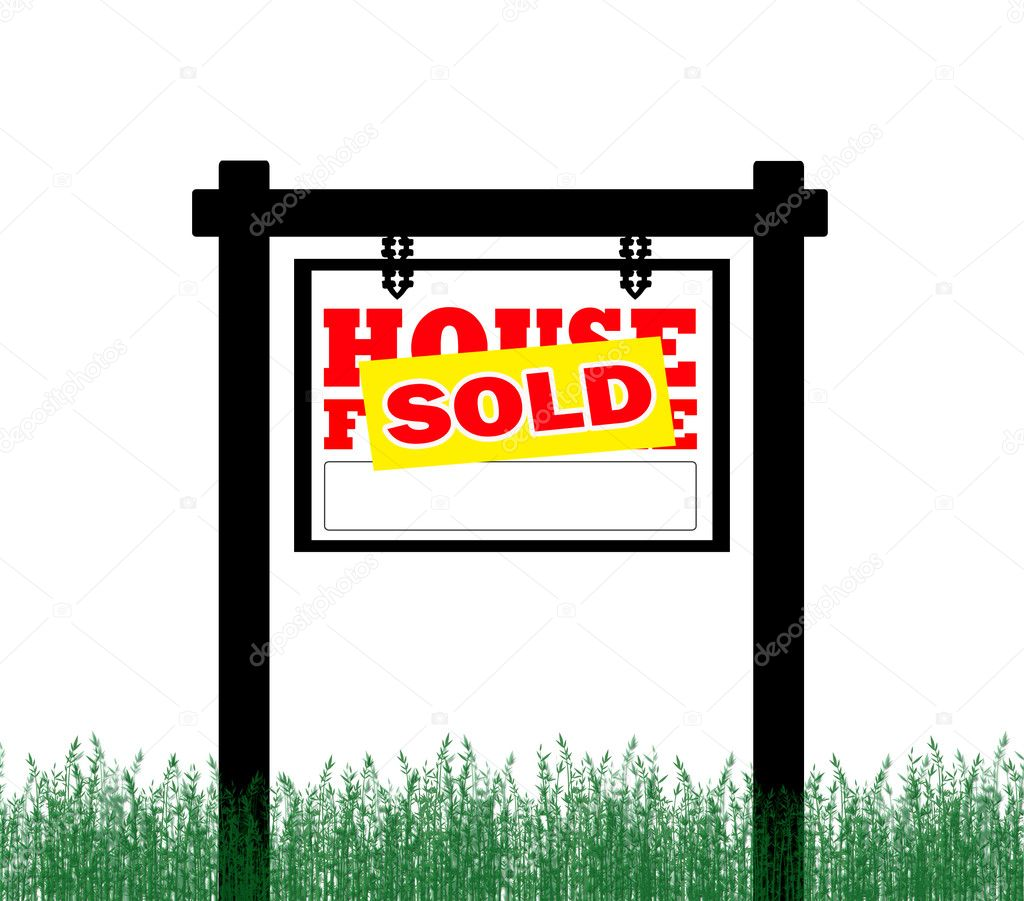 For Sale Sold Sign: Stock Photo © Payphoto #4672495