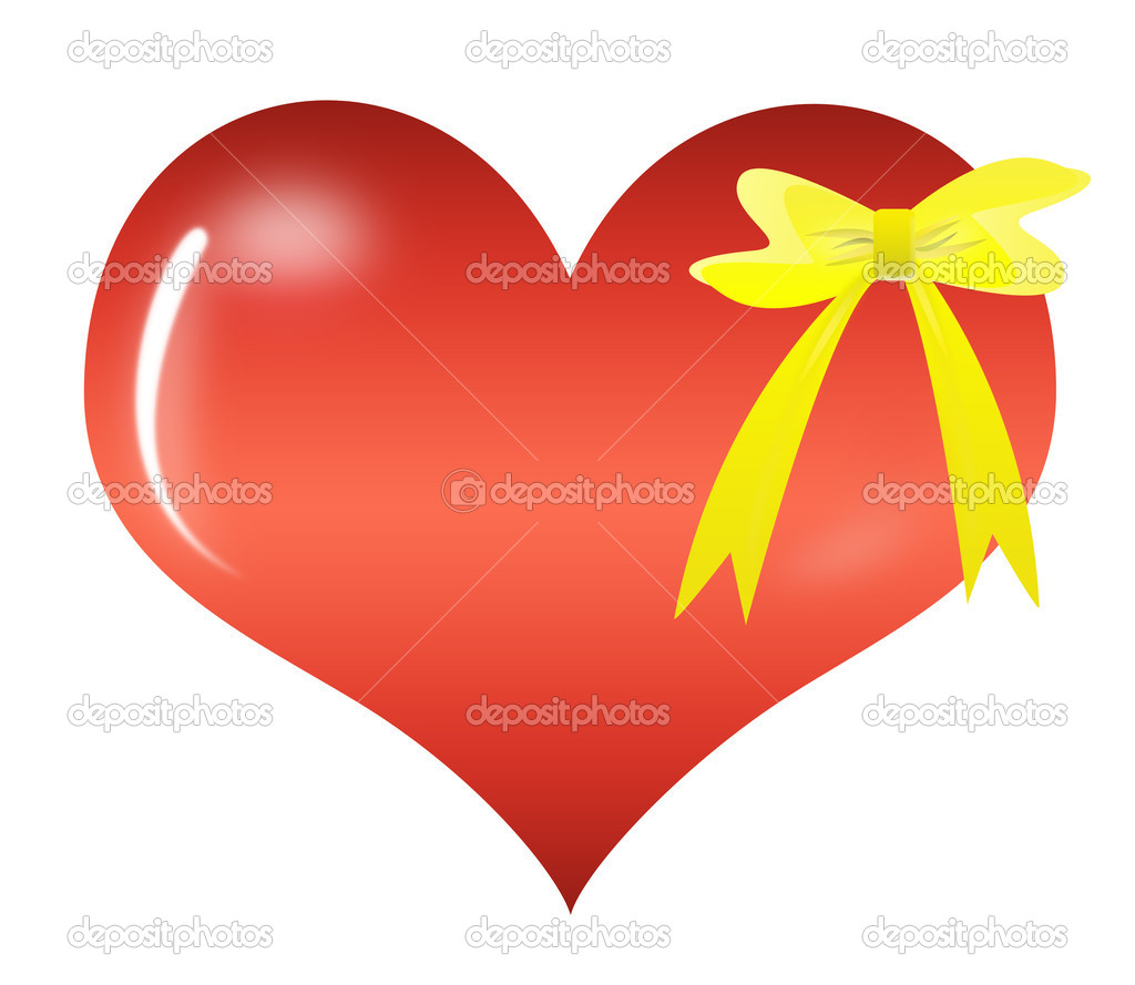 Abstract Valentine's day gift — Stock Photo #4687819
