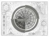 Abstract navigation map — Stock Photo