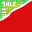 Sale poster for every shopping season — Stok fotoğraf