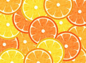 Abstract slice tropical fruits background — Stock Photo