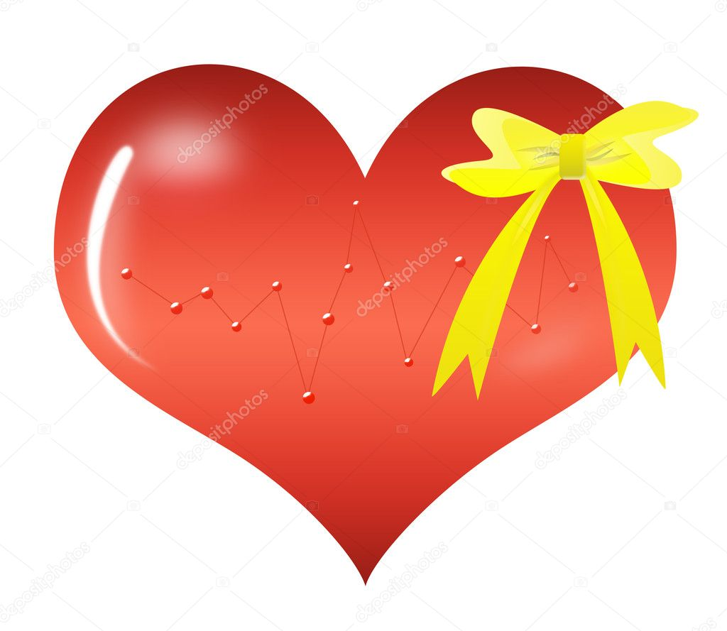 Abstract Valentine's day gift — Stock Photo #4747384