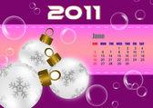 June of 2011 calendar — Stock Photo