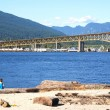 Summer landscape in North Vancouver — Stockfoto