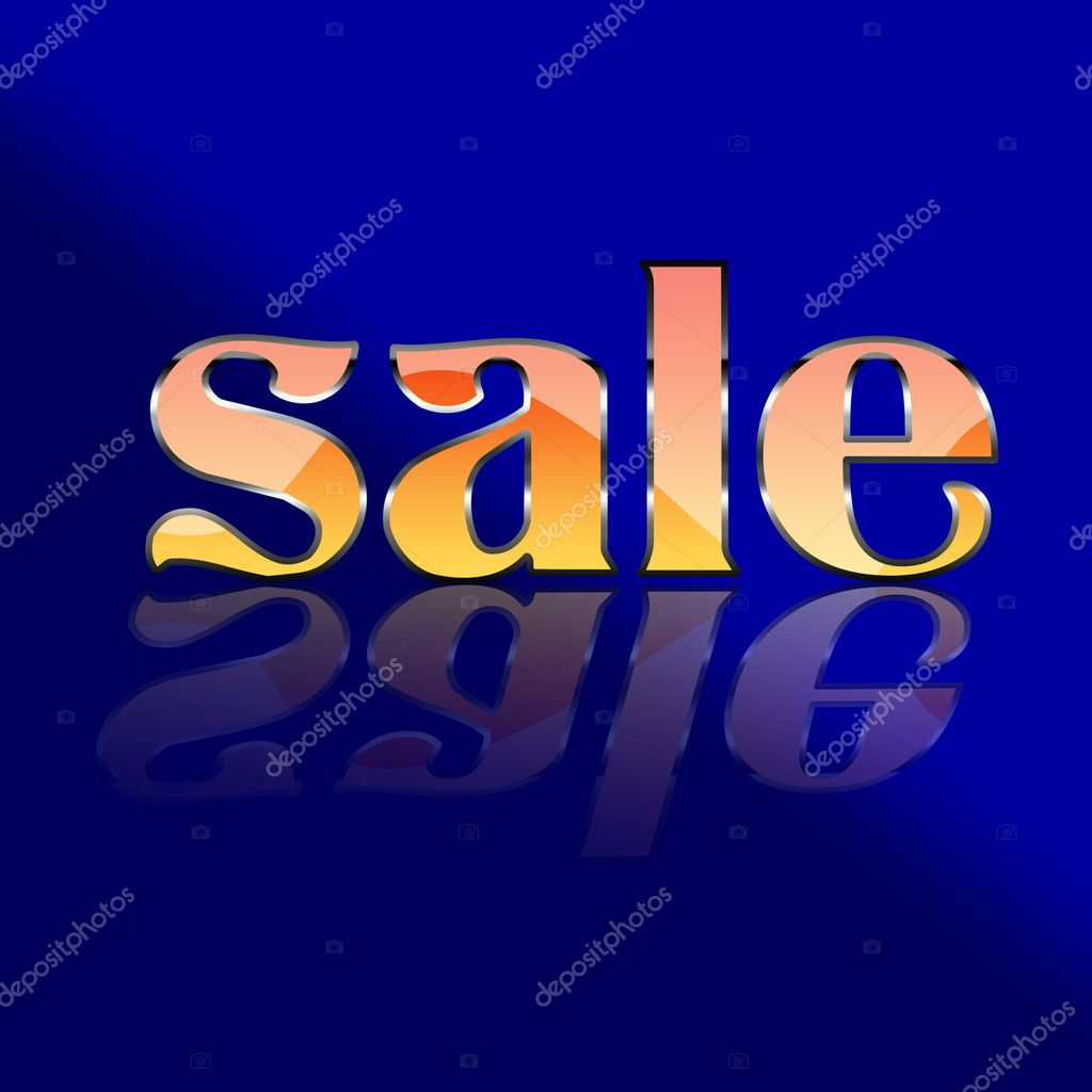 Sale poster for every shopping season  — Stock Photo #4774677