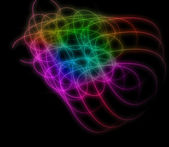 Abstract colorful light background — Stock Photo