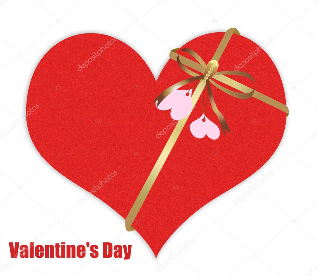 Abstract Valentine's day gift  Stock Photo #4782557