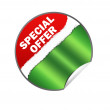 Special offer web sticker illustration — Stock Photo