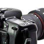 Professional digital camera — Stock Photo