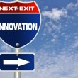 Royalty-Free Stock Photo: Innovation road sign