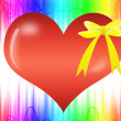 Abstract Valentine day gift — Stock Photo
