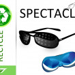 Stock Photo: Please recycle spectacles