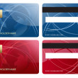 Stock Photo: Abstract business chip credit card
