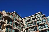 Détail de construction en buranby de grande hauteur — Photo