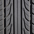 Macro car tire — Stock Photo