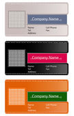Abstract business cards — Foto de Stock