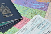Prepare for business travel — Stock Photo