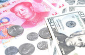 World most two powerful countries currency — Stock Photo