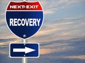 Herstel verkeersbord — Stockfoto