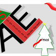 Stock Photo: Abstract xmas sale poster