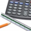 Calculator tools — Stock Photo