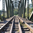 Close-up railway bridge — Stock Photo #5354145