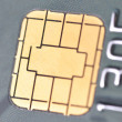 Close-up Business chip card - Stock Photo