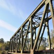 Close-up railway bridge — Stock Photo