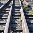 Close-up railway — Stock Photo