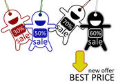 Best price for sale poster — Stock Photo