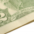 Stock Photo: Two dollars