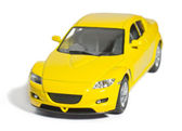 Toy sports car — Stock Photo