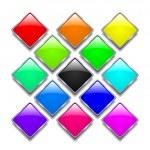 Set of shiny badges — Stock Vector #4642128