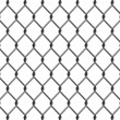 Chain Link Fence - Stock Vector