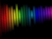 Spectrum Design — Stock Vector