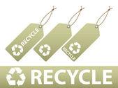 リサイクル ラベル — ストックベクタ