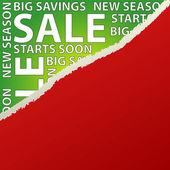 Sale Advert — Stock Vector