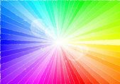 Rays of light — Stock Vector