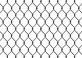 Chain Link Fence — Stock Vector