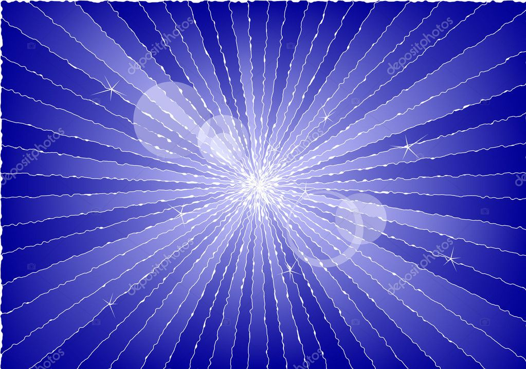 Abstract background showing rays of light in blue. Available in jpeg and eps8 formats. — Stock Vector #4642272