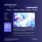 Vector web design — Stock Vector