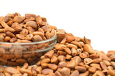 Many nuts — Stock Photo