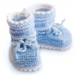 Baby bootee — Stock Photo