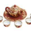 Stock Photo: Chinese tea set
