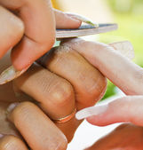 Nail Extensions — Stock Photo