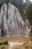 Waterfall after tropical rain — Stock Photo