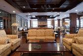 Luxury Hotel Lobby — Stock Photo