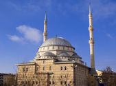 The turkish mosque — Stock Photo